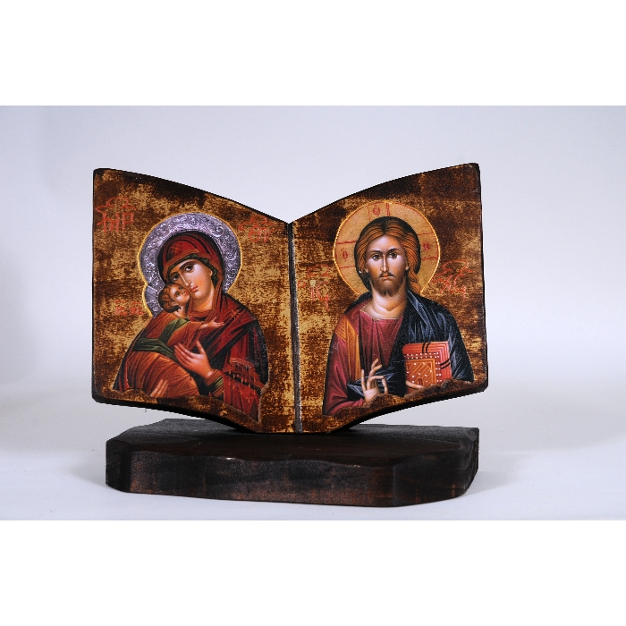 WOODEN ICON BOOK C
