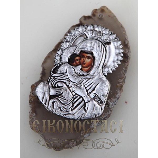AGATE WITH ICON no.2