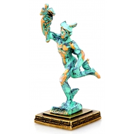 Green Gold Statues