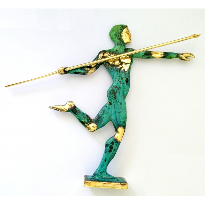 Bronze Olympic javelin thrower 395