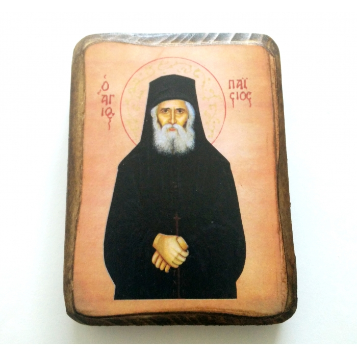 BOMBONNIERE ICON OF SAINT PAISIOS A0